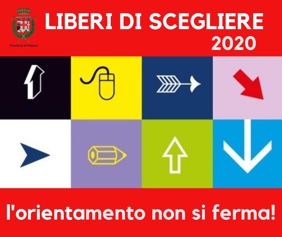 logo liberi di scegliere 2020