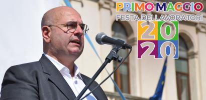 1 maggio presidente della Provincia di Padova Fabio Bui
