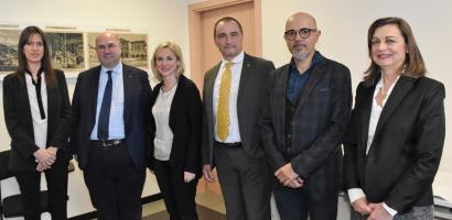 Fabio Bui, Elisa Venturini, Luca Marchesi, Alessandro Benassi, Paola Palmegiani, Federica Dal Molin