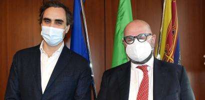 Presidente Bui e professor Alimonti