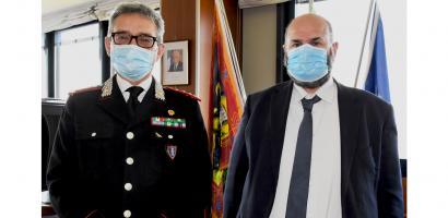 presidente bui e comandante dei carabinieri paparella