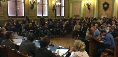 foto riunione in Provincia