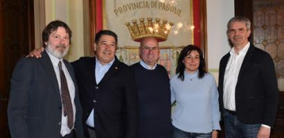 Palio dello Sparviero: firma del protocollo per la XXV^ edizione a Cervarese Santa Croce