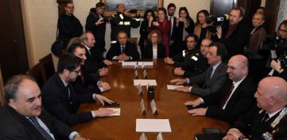 Incontro in Prefettura per i sottosegretari all'Interno e alla Giustizia